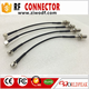 CRC9 male right angle crimp to f female bulkhead male female wire connector RG174 cable assembly