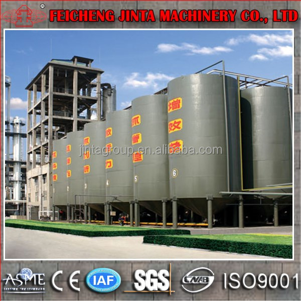 Industrial investment 5000 liters per day edible alcohol equipment