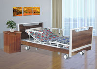 ISO/CE Approved High quality Three-function Electric super low Home care bed