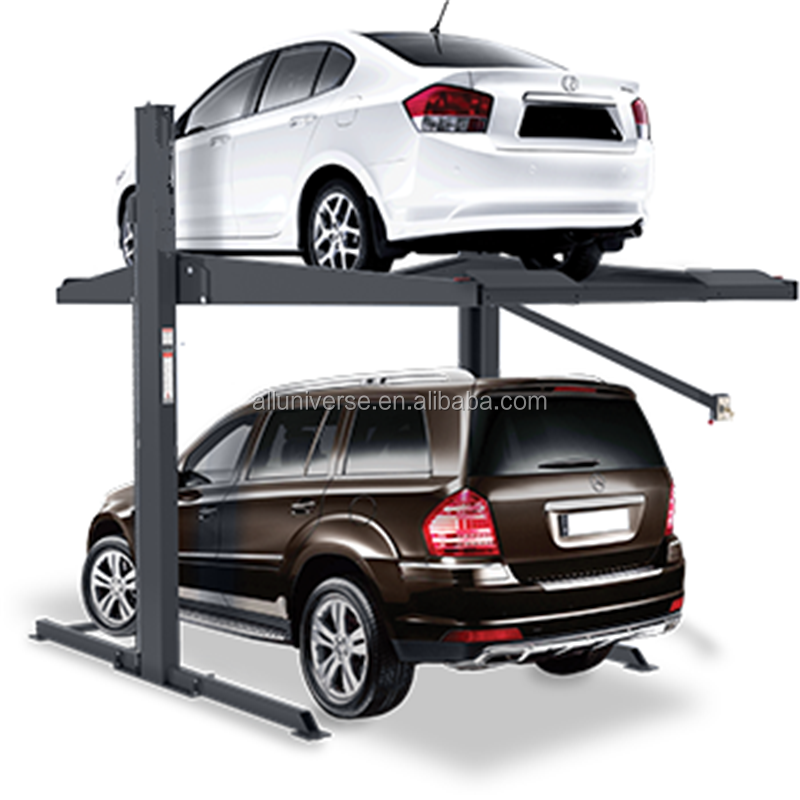 two post home 3D garage car parking lift with CE