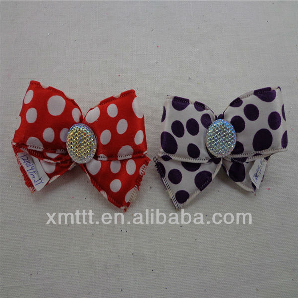 Latest design ribbon flowers for slippers/ sandals/flat shoes