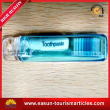 disposable toothpaste cheap disposable toothbrush with toothpaste toothbrush hotel amenities factory price