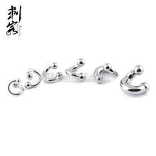 Stainless Steel Internally Threaded Spiral Twist Belly Button Ring