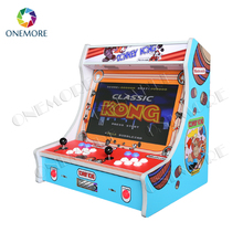 21.5 inch Raspberry Pi 3 system bartop arcade game machine/ mini arcade machine