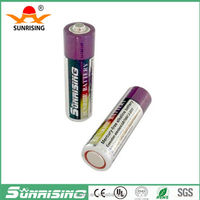 LR6 alkaline batteries r6 aa 1.5v dry battery with factory price