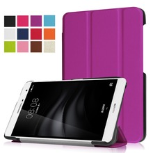 "PU Leather Tri Fold Case for HUAWEI M2 7"" Youth Edition"