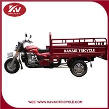 KAVAKI KV150ZH-B basic model 3 wheel red motorcycle hot sale in India