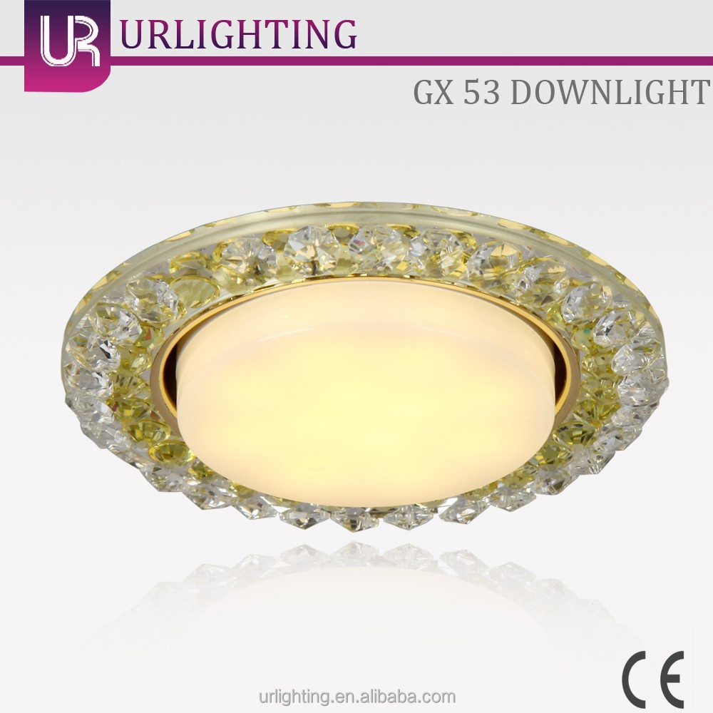 Hot selling dimmable round indoor plastic 6w led ceiling light covers