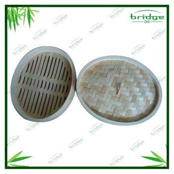 High Quality Natural Bamboo Steamer