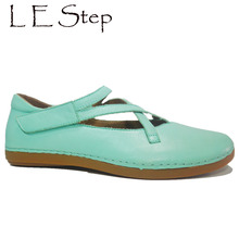 Latest Fashion Model Brazilian Brushed Leather Soft Flat Sole Removable Insole Easy Wear Comfortable Shoes For Women