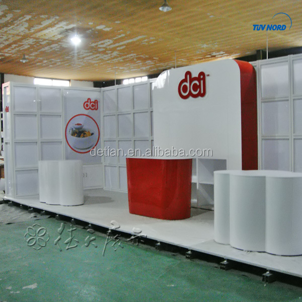 Exhibition stands 10*20 exhibition standard booth exhibition stand contractors