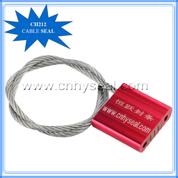 CH212 adjustable tamper proof security lock cable seal