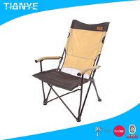 popular fashionable reclining easy-carry metal camping portable beach elderly folding chair