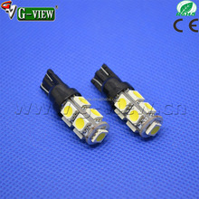 Competitive price car LED lights bulb , 12V T10 flashing bulb 9SMD 5050,break parking stop reverse light