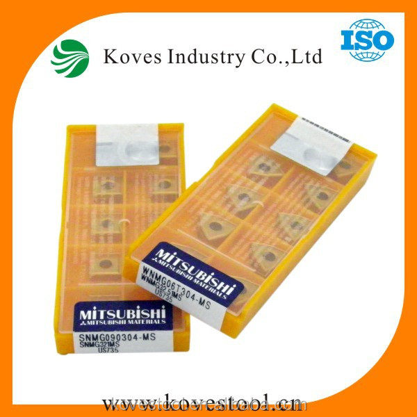 mitsubishi carbide inserts SNMG090304-MS US735 new products on china market