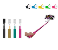 Best gift!!! Popular fashion brabded selfie camera sticks