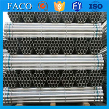 steel structure building materials ! hot dipped galvanized tube with coupling threaded gi pipe 1/2