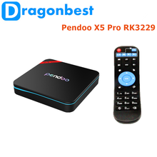 Pendoo X5 Pro RK3229 1G 8G TV Box arabic iptv box D5 android smart tv dongle wholesale set top Android 6.0