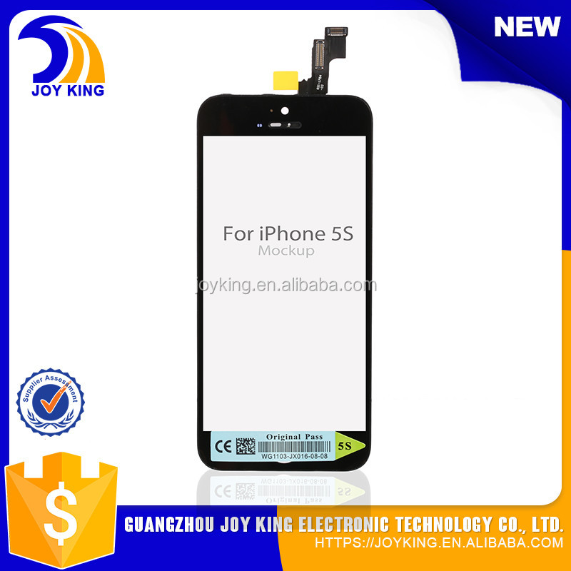 Oem quality original size 4.0 inch for iphone 5 screen , for iphone 5 lcd with low price
