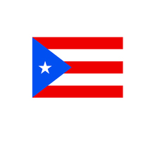 Puerto Rico world national hanging fabric swing outdoor a flags banners