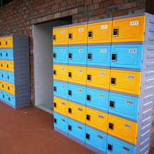 Hot sale swimming asb plastic locker students /dormitory storage for sport center