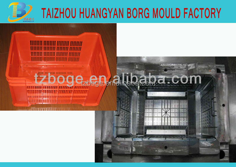 Household Product Food grade plastic crate mould supplier