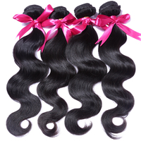 China Alibaba body wave unprocessed 5a top grade virgin brazilian hair extension