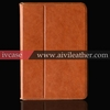 For ipad mini real leather case smart cover case ,durable protective case for ipad mini