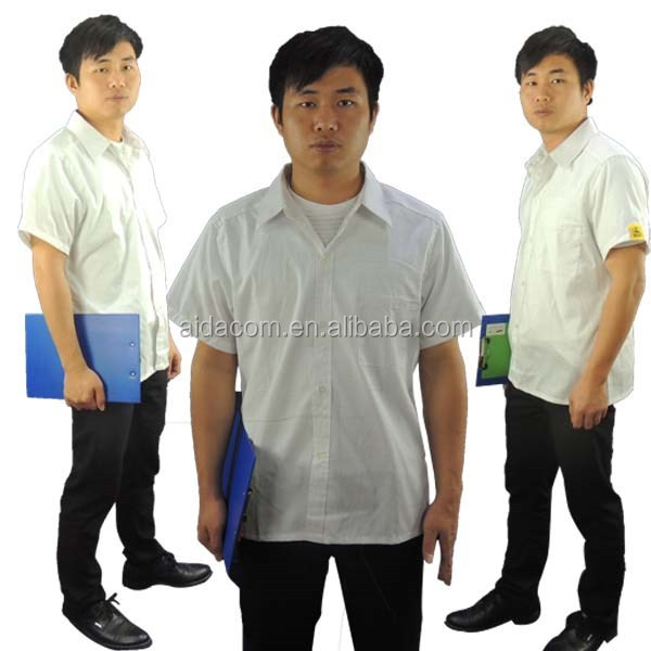 Smock factory, ESD antistatic coat,Cleanroom Poly/cotton ESD Smock