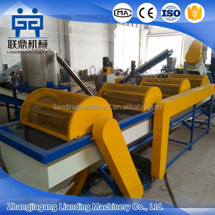 Factory Direct Sale PP/PE Film Crushing Washing Drying Production Machine Line