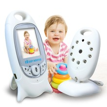 Night vision wireless baby monitor camera / video baby monitor VB601