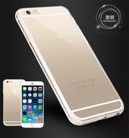2 in 1 case For iphone6 , Luxury 2 in 1 transparent cover case For iphone 6 4.7inch