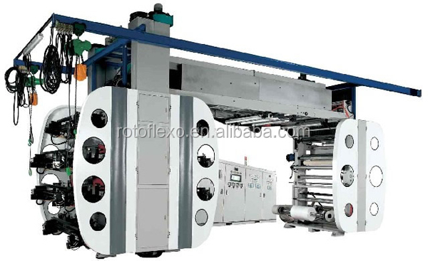 flexo printing press machine