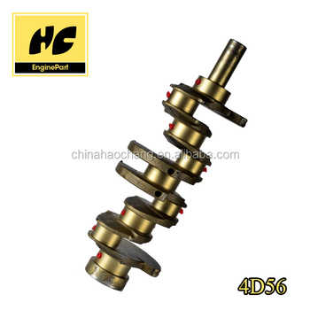 Used for Mitsubishi 4D56 engine crankshaft