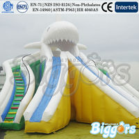 Kids Inflatable Shark Dry Stair Slides for Sale