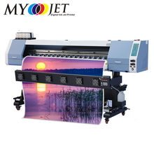 Hot selling ! Myjet HE1802 1.8m 1440dpi dx5 head best eco solvent printer price