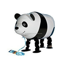 Inflatable advertising balloon cartoon panda walking pet helium balloons