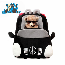 New Design Hot Sale Unique Novelty Black Grey Small Soft Innovative Cute Washable Car Shaped 3D Pet Dog Beds