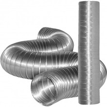 Hydroponics Round Flexible Semi rigid Aluminum Duct