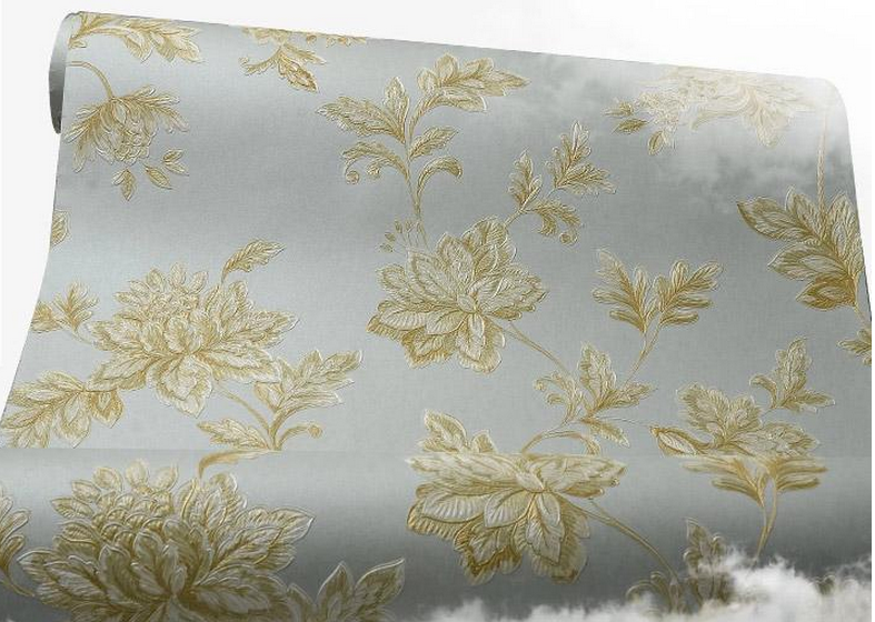 1.06m width PVC vinyl wallpaper suppliers in china