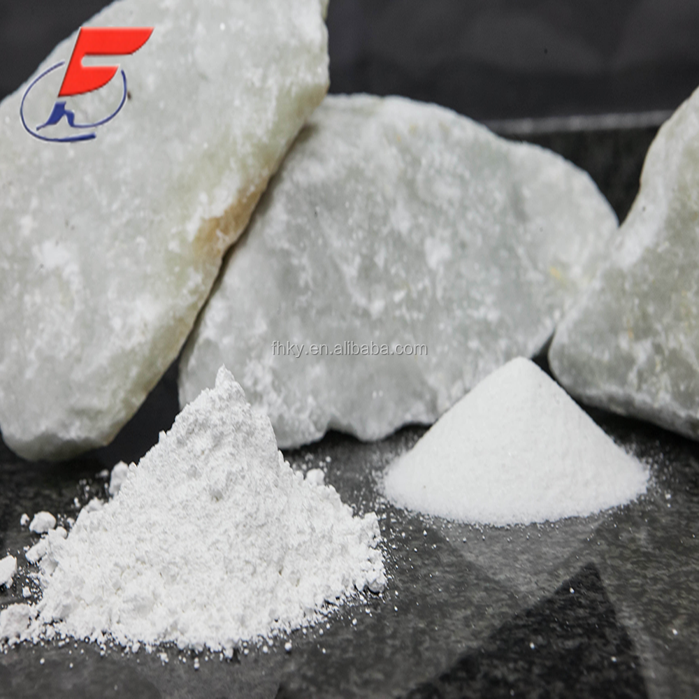 High grade white calcined talc powder for industial use