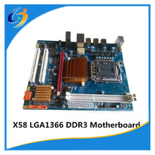 100% tested factory new X58 intel ATX lga1366 motherboard