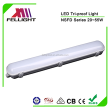 45W 1.2m LED Linear Lighting , IP65 Industrial Linear Waterproof Light for Warehouse