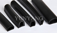 Car window rubber seal, rubber seal for watertight door