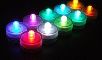 LED flameless battery operated wax candles light