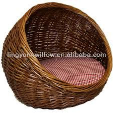 new product woven pet basket,empty basket hot sale