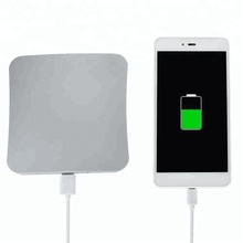 High Capacity Power Bank wholesale Solar Cell phone Charger mobile Phones With 2600Mah window sticker solar charger