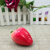 free sample cheap foam lifelike decorative fake artificial fruits strawberry