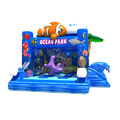 GMIF70915089 Factory price pvc inflatable ocean park theme bouncer for children