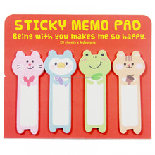 Bookmark Sticky Memo Pad Stick Marker Flags Index Pad Tab Sticky Notes Pad